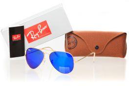 Солнцезащитные очки, Ray Ban Original 3026D-azure-g