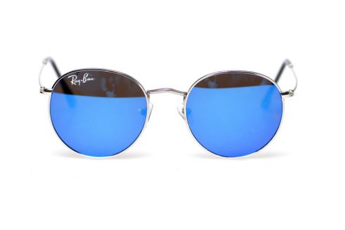 Ray Ban Round Metal 6002-blue